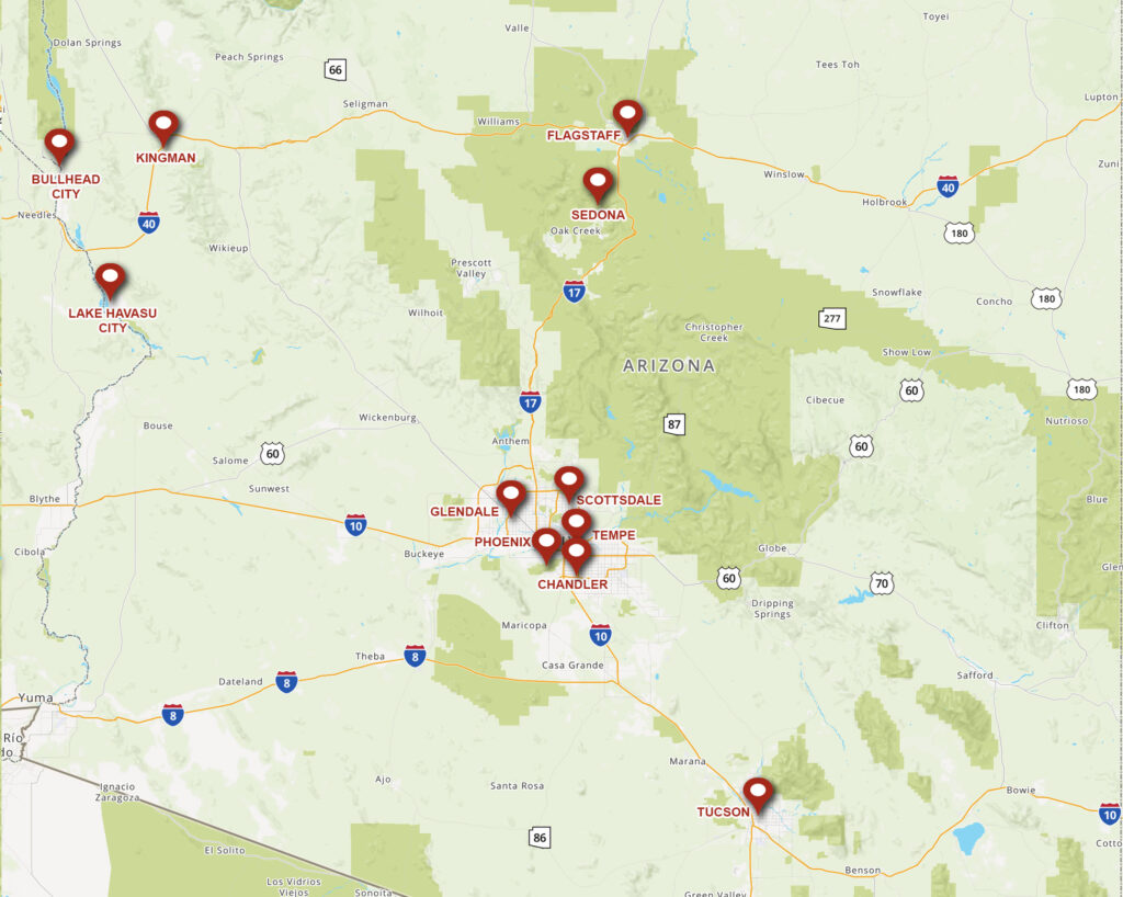AZ Service Locations