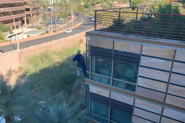 High Rise Window Cleaning service in Scottsdale AZ 1