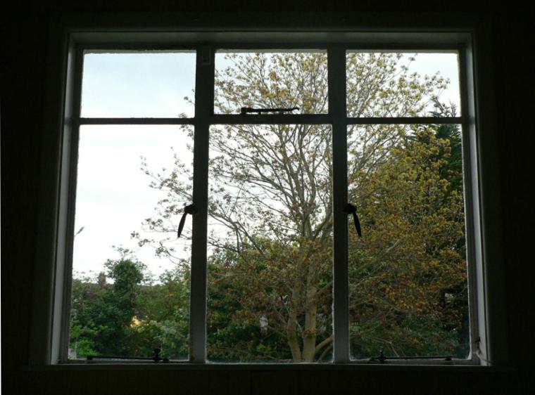 38 Metal Window Silhouette