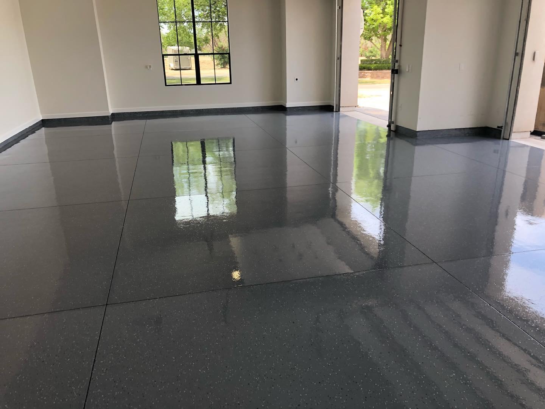 Beautiful epoxy floor in Nashville TN