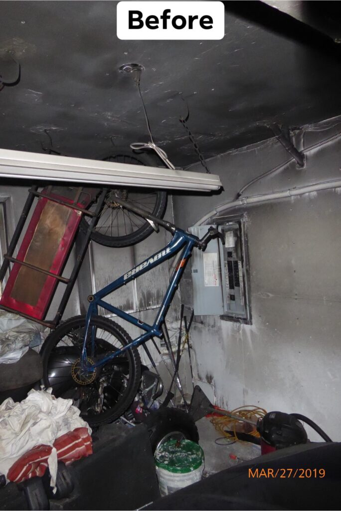 Using the right Fire Restoration company in Scottsdale to remedy an electrical fire.