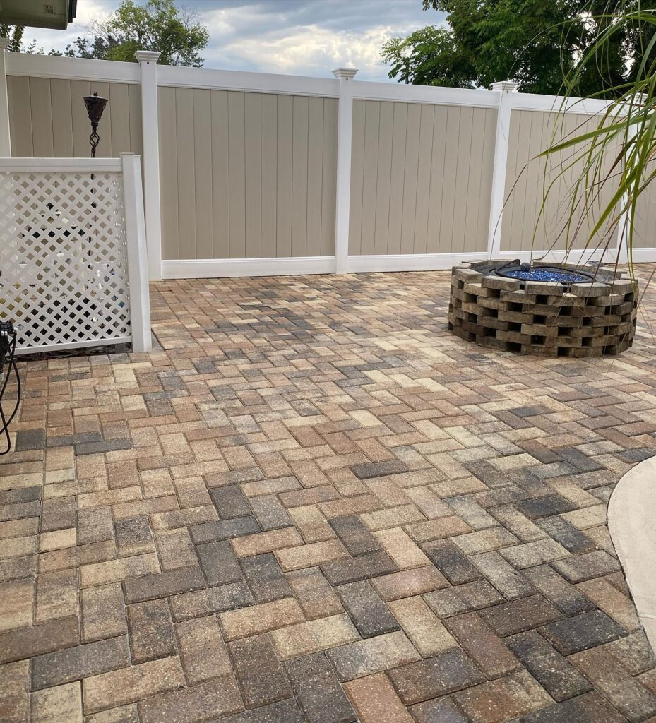 Sealing you pavers will prolong the life of your concrete